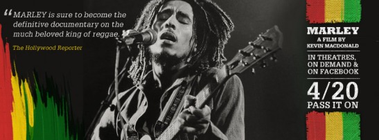 Pass it On: Bob Marley Movie 'Marley' In Theatres, On Demand & On Facebook 4/20