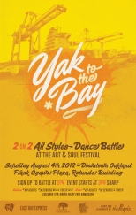 YAK 2 BAY Dance Battle at Art & Soul Oakland