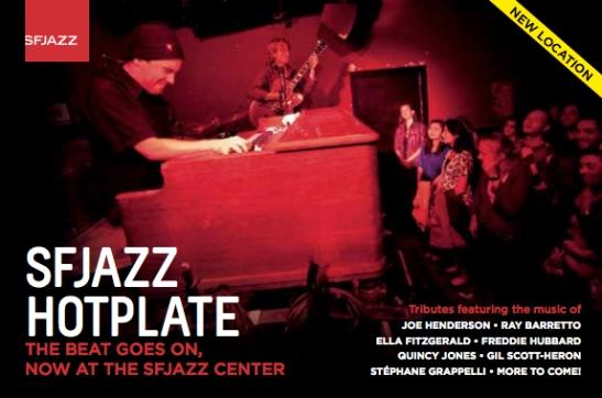 SFJAZZ Hotplate Festival